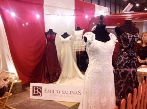 """Los increíbles vestidos de Emilio Salinas en  """"Circus"""" el impresionante stand de Wedding Style en las 1001 Bodas"""