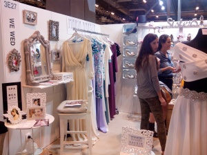 Stand de We Wed en las 1001 Bodas
