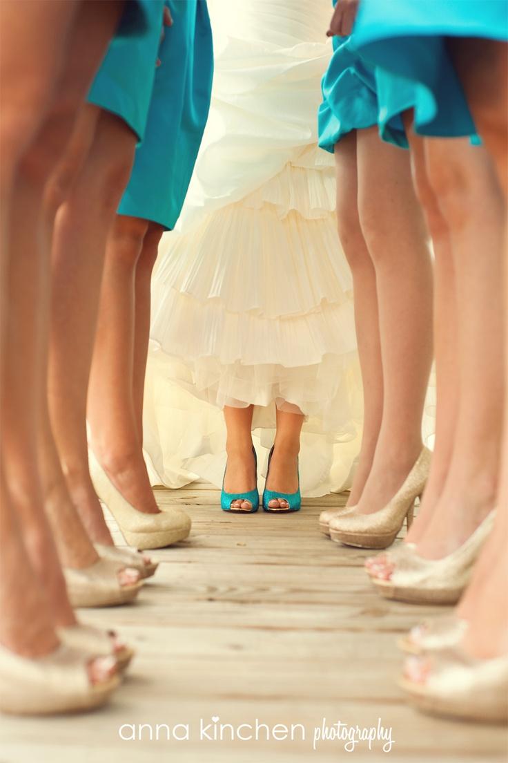 Damas de Honor II : ¿Deben ir vestidas igual? | El Zapato de Cristal